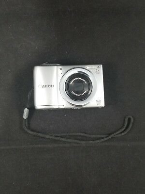 Canon PowerShot A810 16.0MP Digital Camera- Tested, Cleaned