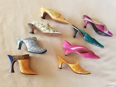 LOT OF 8 Just The Right Shoe 25232 25108 25128 25049 25061 25391 25148 25126