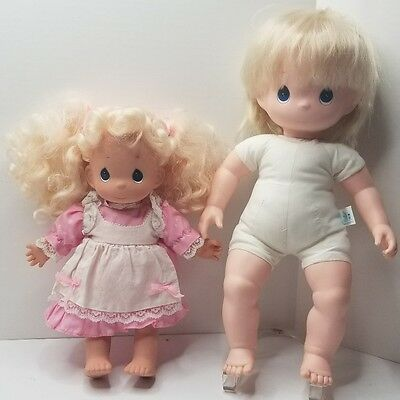 Precious Moments Doll lot of 2 baby dolls