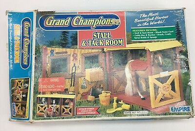 Empire Grand Champions Horse Stall Tack Room New In Box 1995