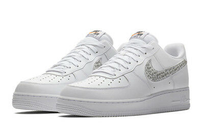 {BQ5361-100} Nike Air Force 1 Low Just Do It Pure White *NEW!*
