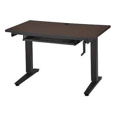Alto-Sit-To-Stand-Workstation Adjustable Height Computer Desk - Pullout Keyboard