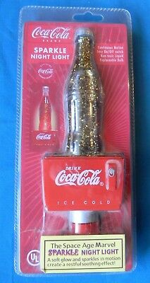 COCA COLA SPARKLE Night Light New in Package