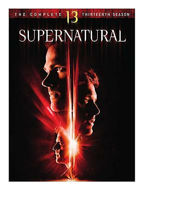 Supernatural Complete Season 13 Brand New Sealed R1 Dvd