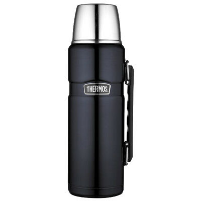 Stainless King™ Vacuum Insulated Beverage Bottle - 40 oz. - Stainless Steel/M...