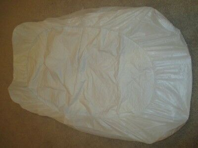 Fitted Mattress Pad Protector Crib Size or Toddler Bed Size