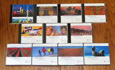 11 Corbis royalty-free photo CDs (1100 photos) travel, nature, people, holiday