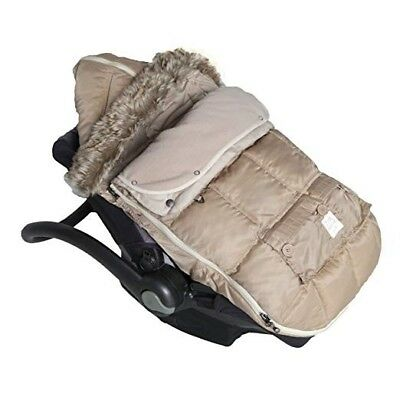 NWT 7AM Enfant Le Sac Igloo Stroller/Carseat Footmuff/Bunting, Beige Sz M 6-18ms