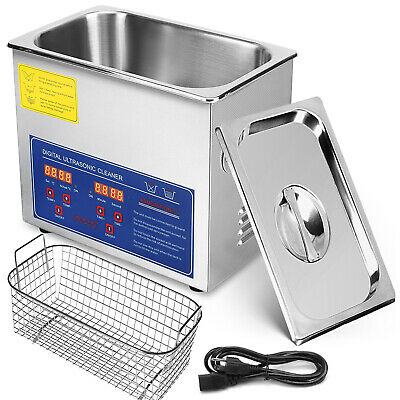 3L Dental Digital Ultrasonic Cleaner Lavatrice Pulitore Vasca Ultrasuoni
