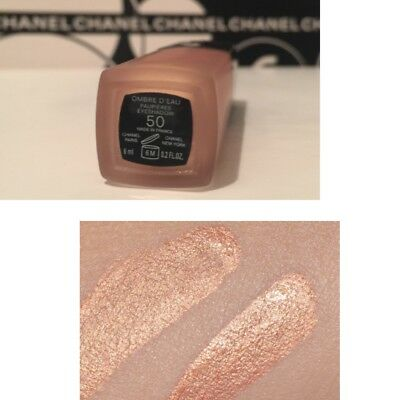 New CHANEL OMBRE D'EAU FLUID IRIDESCENT EYESHADOW 50 Tester 6ml-.2oz