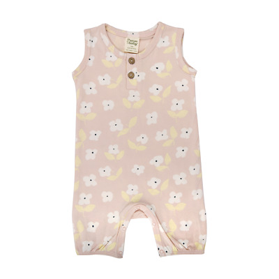 Nature Baby - Summer Suit - Meadow Print
