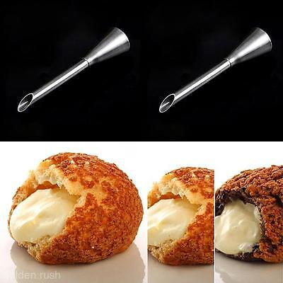 1Pc Stainless Steel Nozzle Cake Cream Puff Decor Small Pastry Icing Piping Tool