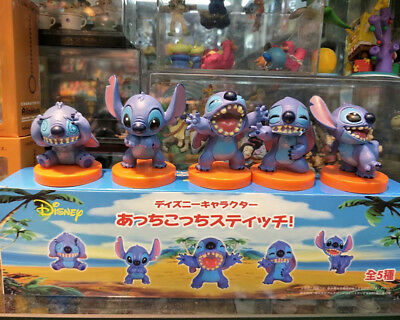 Lilo&stitch big mouth 5pcs PVC figure cartoon doll hot toy gift new
