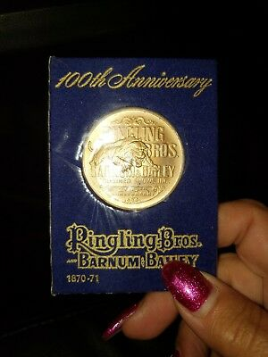 Ringling Brothers Coin