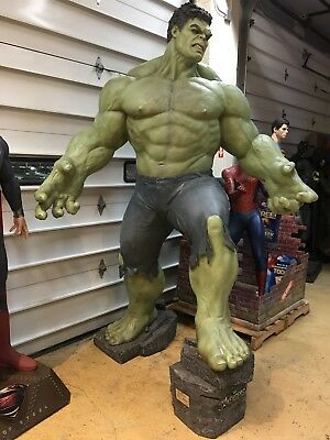 Life Size Marvel Incredible Hulk Statue Movie Theater Display Full