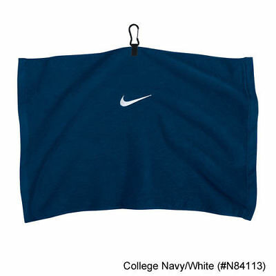 GOLF TOWEL - Navy Nike Golf Swoosh Embroidered Towel