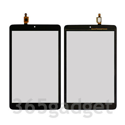 "Touch Screen Digitizer + Frame For T-Mobile Alcatel A30 8"" Tablet 9024W 2017"
