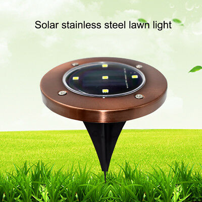 Solar Powered LED Lights for Outdoor Garden Yard Lawn Road Spot Light Lamp