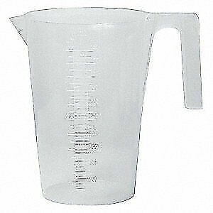 SP SCIENCEWARE Graduated,Graduated Pitcher,1000mL,PP, F28991-0000