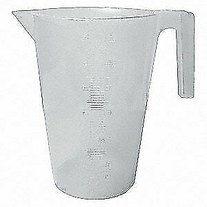 SP SCIENCEWARE Graduated,Graduated Pitcher,3000mL,PP, F28993-0000