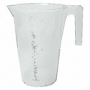 SP SCIENCEWARE Graduated,Graduated Pitcher,2000mL,PP, F28992-0000