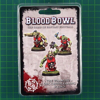 Blood Bowl The Waaaghs! Orc cheerleading squad Fantasy Football Forge World