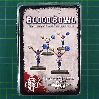 Blood Bowl The Reaverettes Human cheerleading squad Fantasy Football Forge World