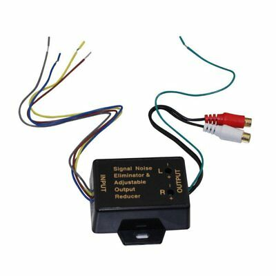 car audio amplifier / subwoofer high to low converter
