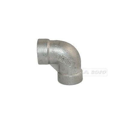 "1/8"" Elbow 90° Angled Stainless Steel 304 Female Threaded Pipe Fitting BSPT 1PCS"