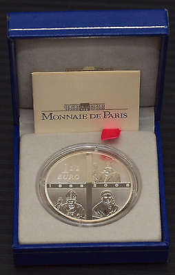 France 1 1/2 Euro - 2008 - LouRdes - 22,2 g. Silver with Box and COA