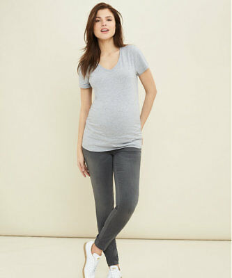 Grey Skinny Maternity Jeans by Blooming Marvellous size 8R / EUR 36