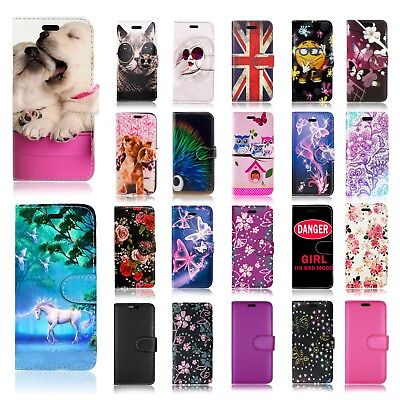 New Wallet Book Leather Fone Case Cover For Samsung Galaxy A3 2017 & More Models