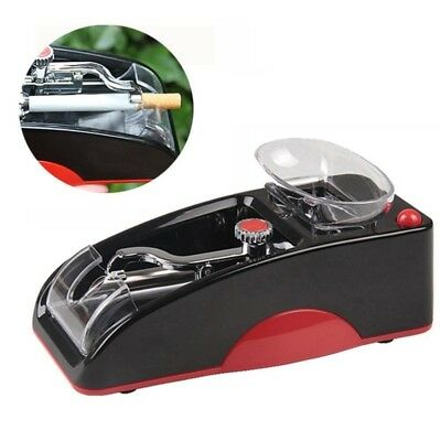 Electric Tobacco Cigarette Rolling Roller Automatic Injector Maker Machine Red