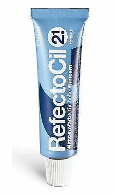RefectoCil 2,1 Dunkel Blau, Dark-Blue 15ml Wimpernfarbe