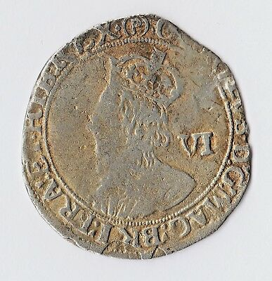 Extremely Rare 1625-49 Charles I Shilling? Tower Mint Contemporary Issue (Ag/Sn)