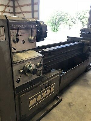Mazak 22X60 Engine Lathe