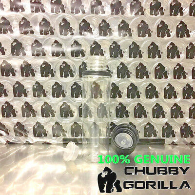 NEW 100% Genuine 60ml Chubby Gorilla v3 Clear/Black DIY Eliquid Mixing FREE P&P