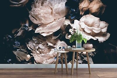 3D Flower 3 Self-adhesive Removable Wallpaper Wall Mural Sticker