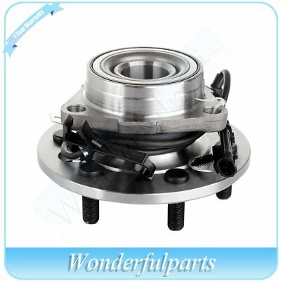 New Front Wheel Hub Bearing Assembly Fits Chevrolet Cadillac GMC 6 Lug W/ABS
