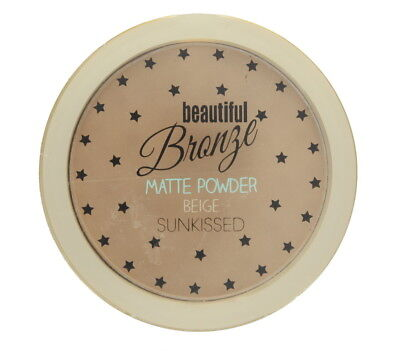 Sunkissed Hermosa Polvo Compacto Bronce Mate Con Acabado Impecable