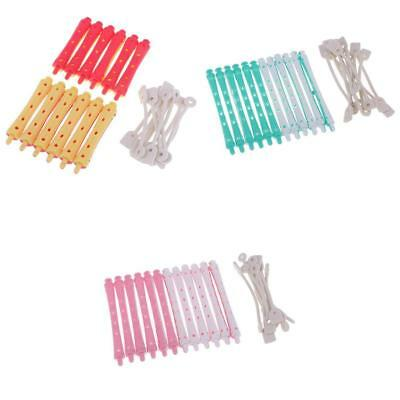 36 Pieces Hair Curler Clamps Hairdreser Perm Rods Hair Styling DIY Tools Kit