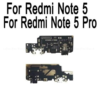 Für Xiaomi Redmi Note 5 Ladebuchse Flex USB Charging Port Connector Motherboard