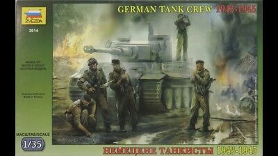 Kit No mas3508 1943-1945 - Masterbox 1:35 German Tank Crew 2