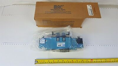 MAC MV-A3B-A211-PM-114JG solenoid pneumatic valve C29637 0-150psi - New