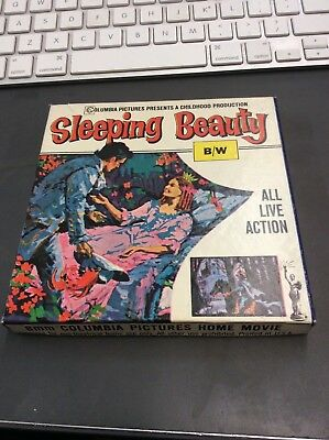 SLEEPING BEAUTY B/W 8mm Film Columbia Pictures Home Movie