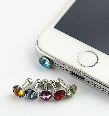 Diamond Dust Plug Mobile Phone accessories