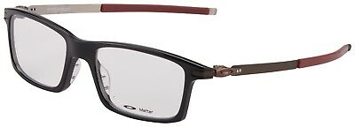 6e826b20fb Oakley RX Eyeglasses OX8050-0553 Pitchman Polished Black Frame  53-18-140