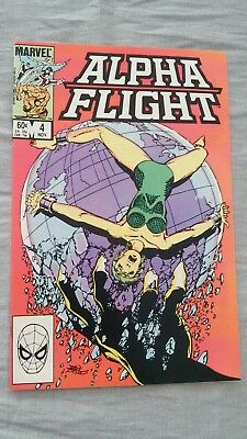 Alpha Flight #4 John Byrne  Marvel 1983 FN P&P Discounts