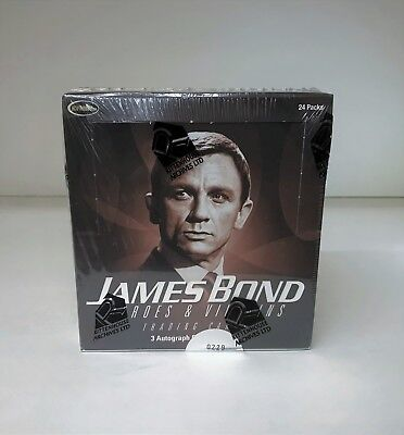 James Bond Heroes & Villains - Sealed Trading Card Hobby Box - Rittenhouse 2010