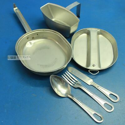 US Army M1942 Mess Kit with Cutlery & Canteen Cup Set  - Original